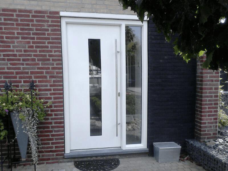 Gordijn Voor Deur : Kunststof deuren limburg specialist in kunststof v d linden